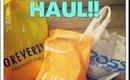 HAUL!! Ulta,Forever 21,WetSeal