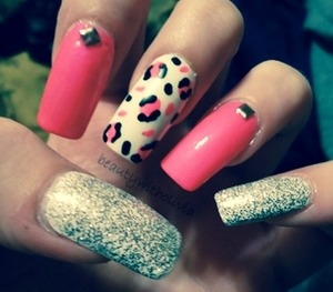 I will have a tutorial on these later today on my beauty channel on YouTube! :)