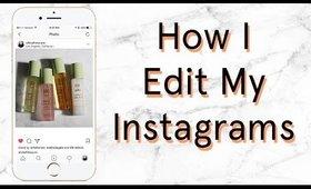How I Edit Instagram Makeup Flatlays (Photoshop, VSCO, FaceTune) Tutorial   OliviaMakeupChannel
