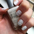 Newsprint Nail Design