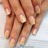 Gold flake nails