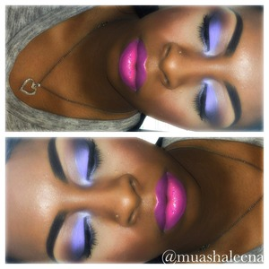 Follow me on Instagram to see what I used for this look and many other makeup pics @muashaleena