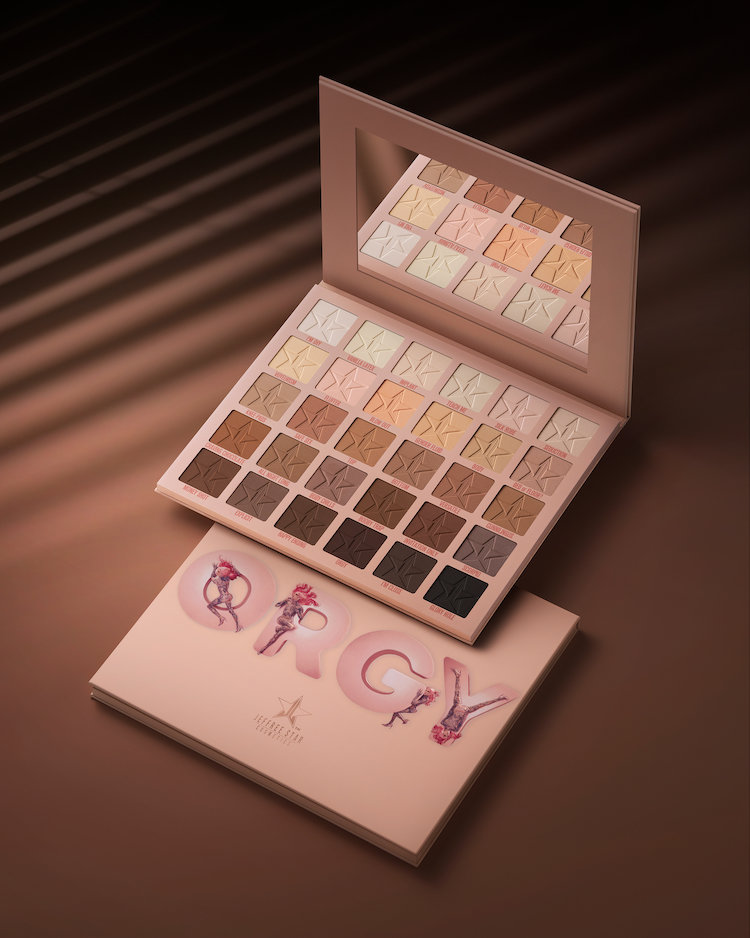 Alternate product image for Orgy Eyeshadow Palette shown with the description.