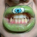 Monster Lip Art - First Attempt
