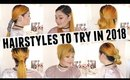 Hairstyles to Try in 2018