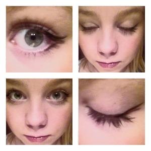 I am gradually making my winged eyeliner longer so someday I can fly away..