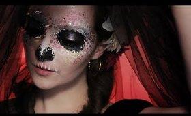 Colourful (Easy) Skull Makeup Tutorial