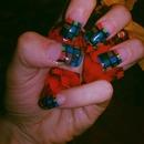 Long Flare Nails