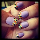 Pointillism Nails