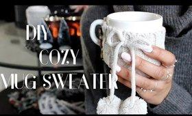 D.I.Y. Cozy Mug Sweater! Easy Tutorial | Danish Hygge | Interior| CillasMakeup88