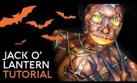 Jack O' Lantern | Cristress of the Dark | Body Paint Tutorial