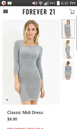 How To Style A Plain Grey Dress.   Beautylish 683fe691c6