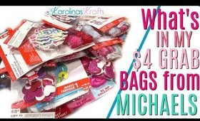 What's in my Michaels $4 Grab Bags for Valentines Day 2020
