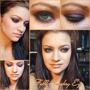 Jaclyn Hill has this tutorial up on her YouTube channel I didn't really have the colors she did so this is what mine turned out as thanks Jaclyn!