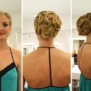Braided Mermaid Up Do