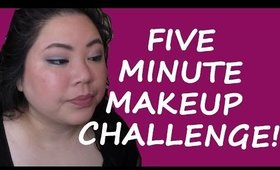 5 Minute Makeup Challenge Featuring Birchbox!