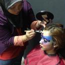 Behind The Scene: Futuristic Beauty Woman