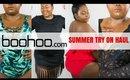 BOOHOO SUMMER TRY ON HAUL 2018  Plus Size Fashion 