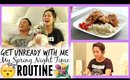 Get UNready With Me! My Spring Night Time Routine ♡