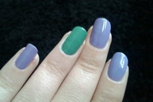 OPI - do you lilac it and Avon minty