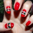 Happy Holidays Nails