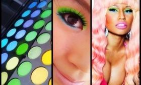 NICKI MINAJ ♡♡ MAC Viva Glam Nicki Campaign Inspired Makeup
