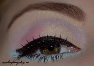 Eyes  False Eyelashes: Ardell: Madrid Mascara: Isadora Precision Eyeliner pen: Isadora flex tip eyeliner Eyeshadow: Isadora Eye shadow quartet: 49 Gelato
