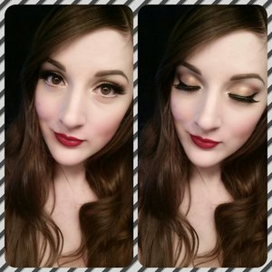 This stunning looks tutorial is up on my youtube channel! Check it out and see how to re create this! http://www.youtube.com/user/caitlynkreklewich