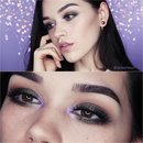 Green and Lavender make up