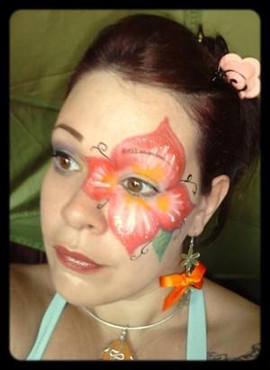 make up artistique floral