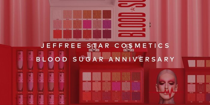 Shop Jeffree Star Cosmetics' Blood Sugar Anniversary Collection on Beautylish.com