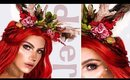 DEER MAKEUP TUTORIAL | DIY DEER HEADBAND | COSTUME & HAIR!