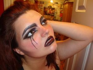 Super Villain Makeup