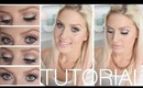 Tutorial! ♡ Dramatic Neutrals & Intense Eyeliner