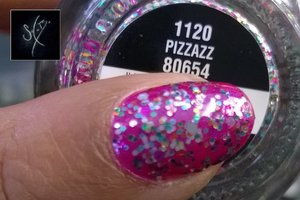 China Glaze: Caribbean Temptation + Pizzazz