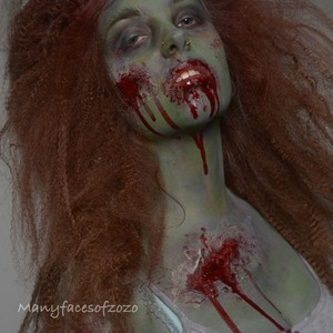 My first real photoshoot and I just had to do a zombie. I love them so much!!