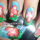 One Stroke Exotic Nail Art