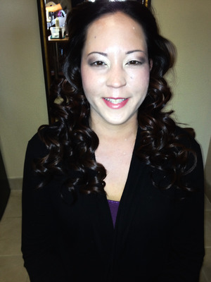 makeup for a wedding party i did in early fall
