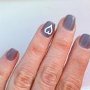 Nail Art - Chinchilly Heart 2