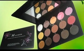 Maycheer Palette Review/Show N Tell