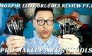 MORPHE BRUSH MAKEUP HAUL- Brand New Elite Brush Collection Part 1- mathias4makeup