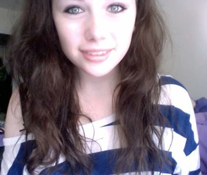 everyday look with all natural hair :0
