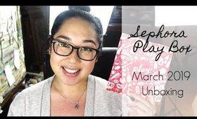 Sephora Play Unboxing: March 2019 | yukieloves // warmvanillasugar0823