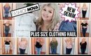 Fashion Nova Curve HUGE Plus Size Try On Haul | NEW DENIM 2019