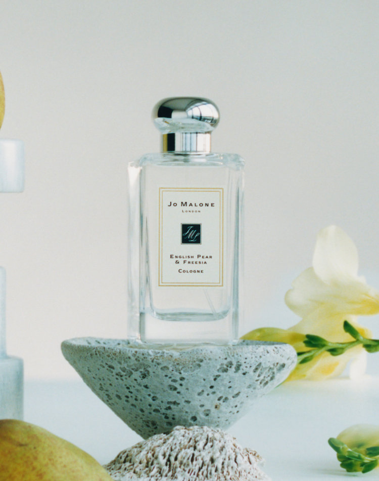 Alternate product image for English Pear & Freesia Cologne shown with the description.