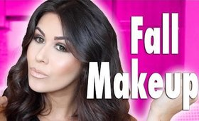 Full Makeup Tutorial | Fall Hair & Makeup 2014