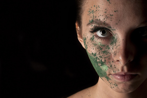 Model: Sophie Crank Photographer & Make-Up: Simone Kelly  © Simone Kelly, 2012 Moral Rights Asserted.