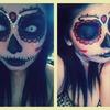 First attempt at DOTD makeup(: