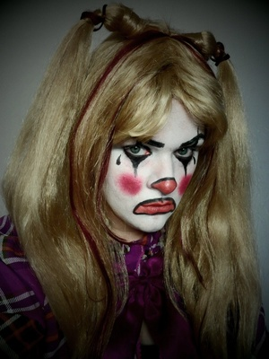 Clown is the 4th makeup tutorial for my 2012 Halloween series.