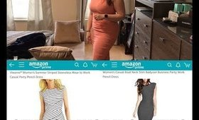 What To Wear To Work On A Budget Featuring Amazon Dresses